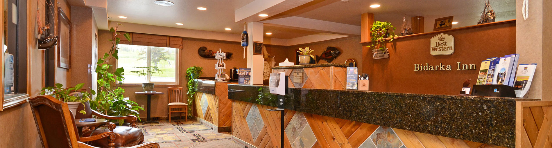 Book your Alaskan adventure at the Best Western Bidarka Inn