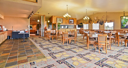Enjoy great food right here at the BEST WESTERN Bidarka Inn